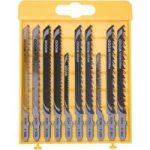 DeWalt DT2292 Jigsaw Blade Set Metal Cutting 10pc