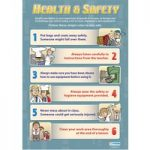 Health and Safety Wall Chart Poster