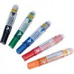 Pilot V Refill Cartridge for Board Marker Pens, Green (Pack of 12)