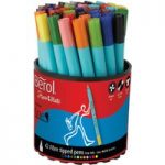 Berol by Paper Mate Assorted Colours Fibre Tip Pens Pack of 288