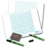 Show-me 100 Square Gridded Board – Pack of 100