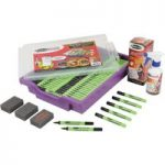 Show-me Fine Tipped Slim Dry Wipe Pens (Class Tray of 200)