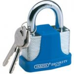 Draper 64182 50mm Laminated Steel Padlock and 2 Keys