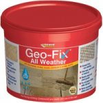 Everbuild GEOWET14GY Geo-Fix All Weather Slate Grey 14kg
