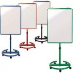 Metroplan Ultimate Mobile Flipchart Easel Blue