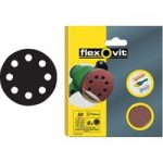 Flexovit 63642526707 Hook & Loop Sanding Discs 125mm Coarse 50G – …