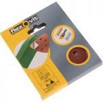 Flexovit 63642526401 Delta Hook & Loop Sanding Sheets 94mm Fine 120G