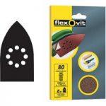 Flexovit 63642526404 Detail Hook & Loop Sanding Sheets 105 x 175mm…