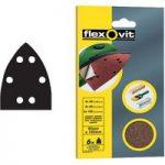 Flexovit 63642526409 Detail Hook & Loop Sanding Sheets 95 x 145mm …