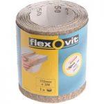 Flexovit 63642526412 General Purpose Sanding Roll 115mm x 5m Mediu…