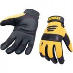 DeWalt DPG21L Synthetic Padded Leather Palm Gloves