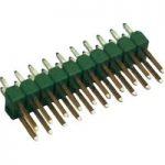TE Connectivity 825440-2 Ampmodu II Pin Header Gold 2 x 2P Black, …