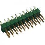 TE Connectivity 2-826656-0 Ampmodu II Short Pin Header Gold 2 x 20…