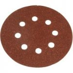 Black+Decker X32032 Perforated Sanding Discs 125mm Medium Coarse -…