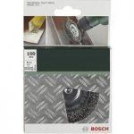 Bosch 2608622009 Wire Wheel Brush Ø 75mm Brass-coated Shank Ø 6mm