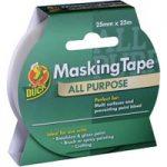 Duck Tape® 232316 All Purpose Masking Tape 25mm x 25m