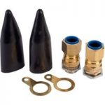 Hellermann Tyton CW20S 20mm Small Ind Brass Cable Gland Kit