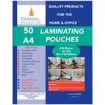 Cathedral Products A425050 A4 Laminating Pouches 250 micron Pack 50