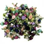 RVFM Ribbon Rose Pack 100 with Assorted Colours