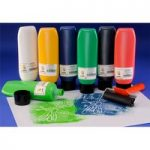 Scola BPW300/6/A Block / Lino Printing Ink Pack of 6x 300ml Assort…