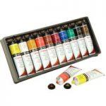 Daler Rowney Georgian Oil Colours Selection Assorted Set (10 x 38m…
