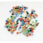 Antex Rhinestone Coloured Gems Bag of 144