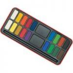 Major Brushes Watercolour Painting Tin-18 Block