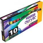 Daler Rowney Graduate Acrylic Paint Introduction Set 10 x 38ml