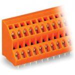 WAGO 736-304 2×4 Pole 5mm 21A 45° Double Deck PCB Terminal Block O…