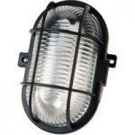 Brennenstuhl 127 040 0 Bulk Head Light 60W Oval Ip44 Black