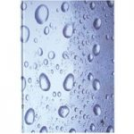 Cathedral Hardcover Notebook A5 Rain Drops