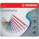 STABILO Tinned Art Products Carbothello Chalk Pastel Coloured Penc…