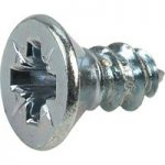 Affix Pozi Countersunk Self-Tapping Screws No.8 9.5mm – Pack Of 100