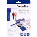 Snopake Swordfish A4 Laminating Pouches 150 micron (Pack of 25)