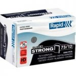 Rapid Staple 73/12 5M G Super Strong – Pack of 5000