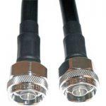 Telegartner RG214 1.0m N Straight Plug to N Straight Plug