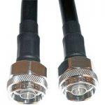Telegartner RG223 2.0m N Straight Plug to N Straight Plug