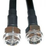 Telegartner RG213 2.0m N Straight Plug to N Straight Plug
