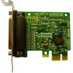 BRAINBOXES PX-157 Parallel Port Printer Low Profile PCI Express Card