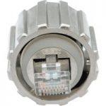 Conec 17-10001 RJ45 IP67 Plug Cat.5e Bayonet Locking Black Plastic…