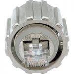 Conec 17-10013 RJ45 IP67 Plug Cat.5e Bayonet Locking Metallised Pl…