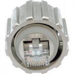 Conec 17-10044 RJ45 Plug Cat.5e Bayonet Locking Metallised Diecast…