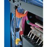HellermannTyton 130-00018 TEXTIE-M-PA/PP-BU-X1 200mm x 12.5mm Blue…