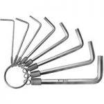 Bernstein 6-810 Wrench Key Set On Ring – 8 Piece