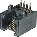 Assmann WSW A-20042/LP 8 Pin RJ45 Socket Black