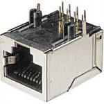 Assmann WSW A-20042-LP/FS 8 Pin RJ45 Socket Silver