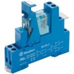 Finder 49.52.7.024.5050 Interface Relay Module 24VDC 8A DPDT (AgNi…
