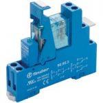 Finder 49.61.7.024.0050 Interface Relay Module 24VDC SPDT + Diode …