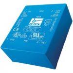 Block FL 2/6, 2 VA low profile PCB transformer 2 x 115 V to 2 x 6 V
