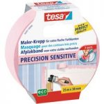 tesa® 56261 Precision Sensitive Masking Tape Rose 38mm x 25m